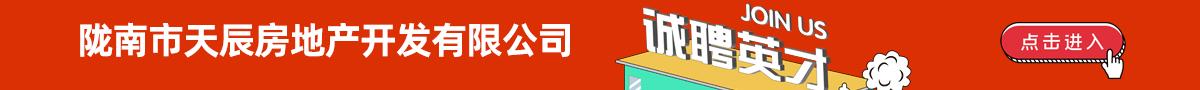 陇南市天辰房地产开发有限公司