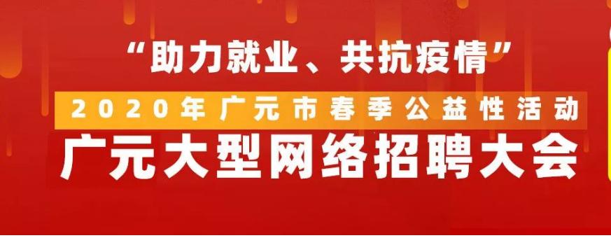 广元网络招聘会