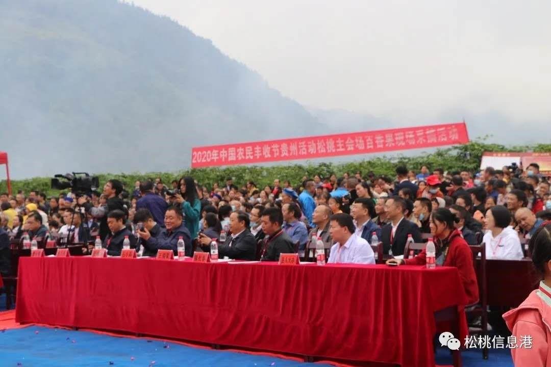 """祝贺贵州松桃信息港作为第三方承办""""中国农..."""