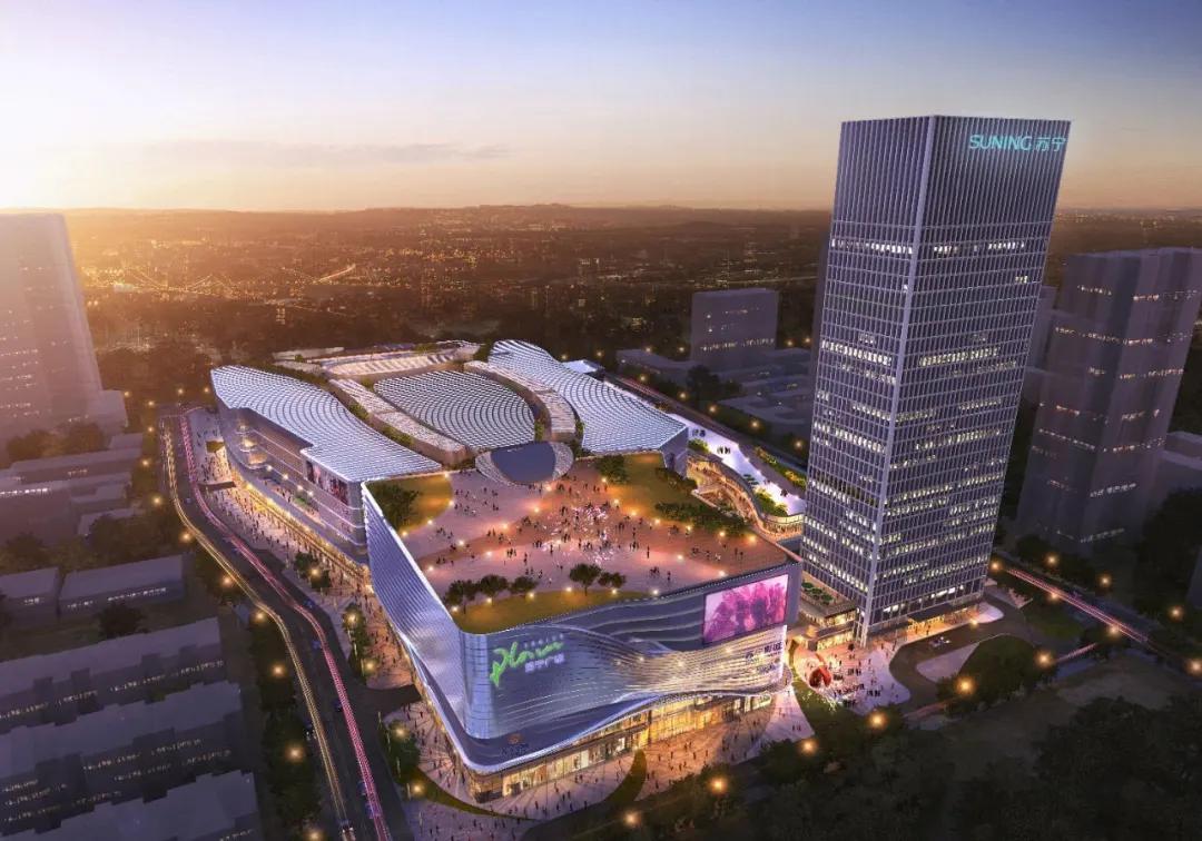 城市封面|绽放建筑艺术之美,融合智慧科技之光 一座旗舰型商业